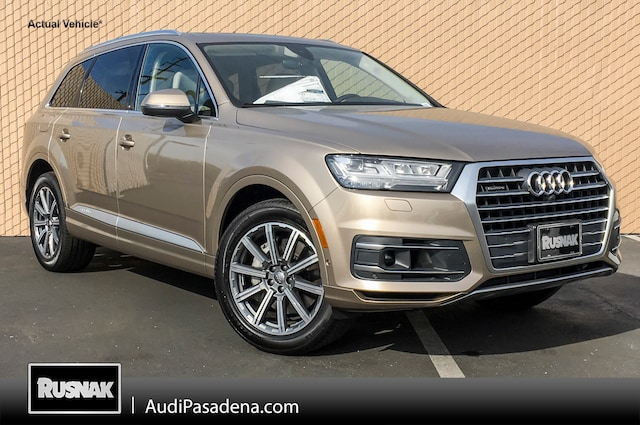 New 2019 Audi Q7 3.0T Premium Plus SUV Los Angeles Southern California