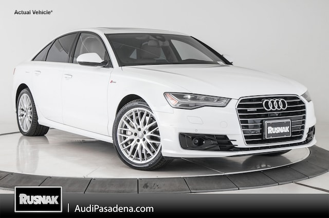 Certified Used 2016 Audi A6 3.0T Prestige Sedan Los Angeles Southern California