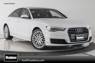 Certified Used 2016 Audi A6 2.0T Premium Sedan Los Angeles Southern California