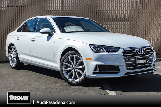 New 2019 Audi A4 2.0T Premium Sedan Los Angeles