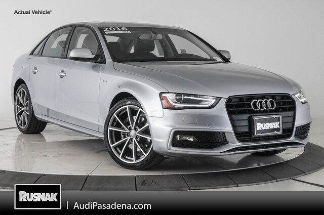 Certified Used 2016 Audi A4 Premium Sedan Los Angeles Southern California