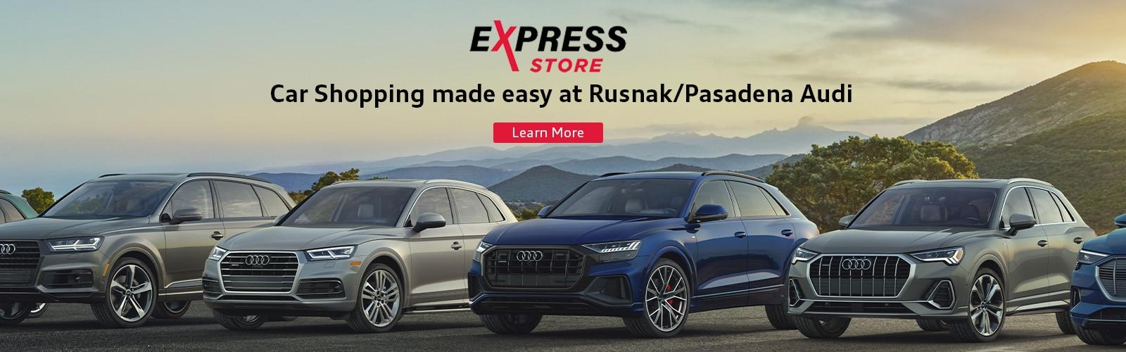 Pasadena CA's Rusnak/Pasadena CA Audi   New and Used Audi Cars