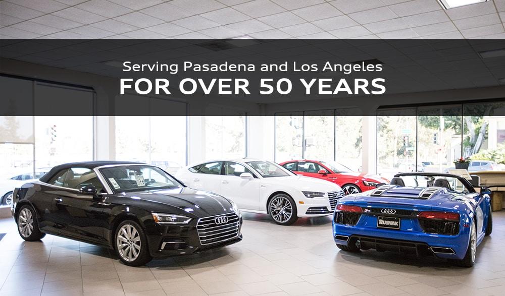 About Rusnak Pasadena Audi Los Angeles Area New Audi Used Car Dealer