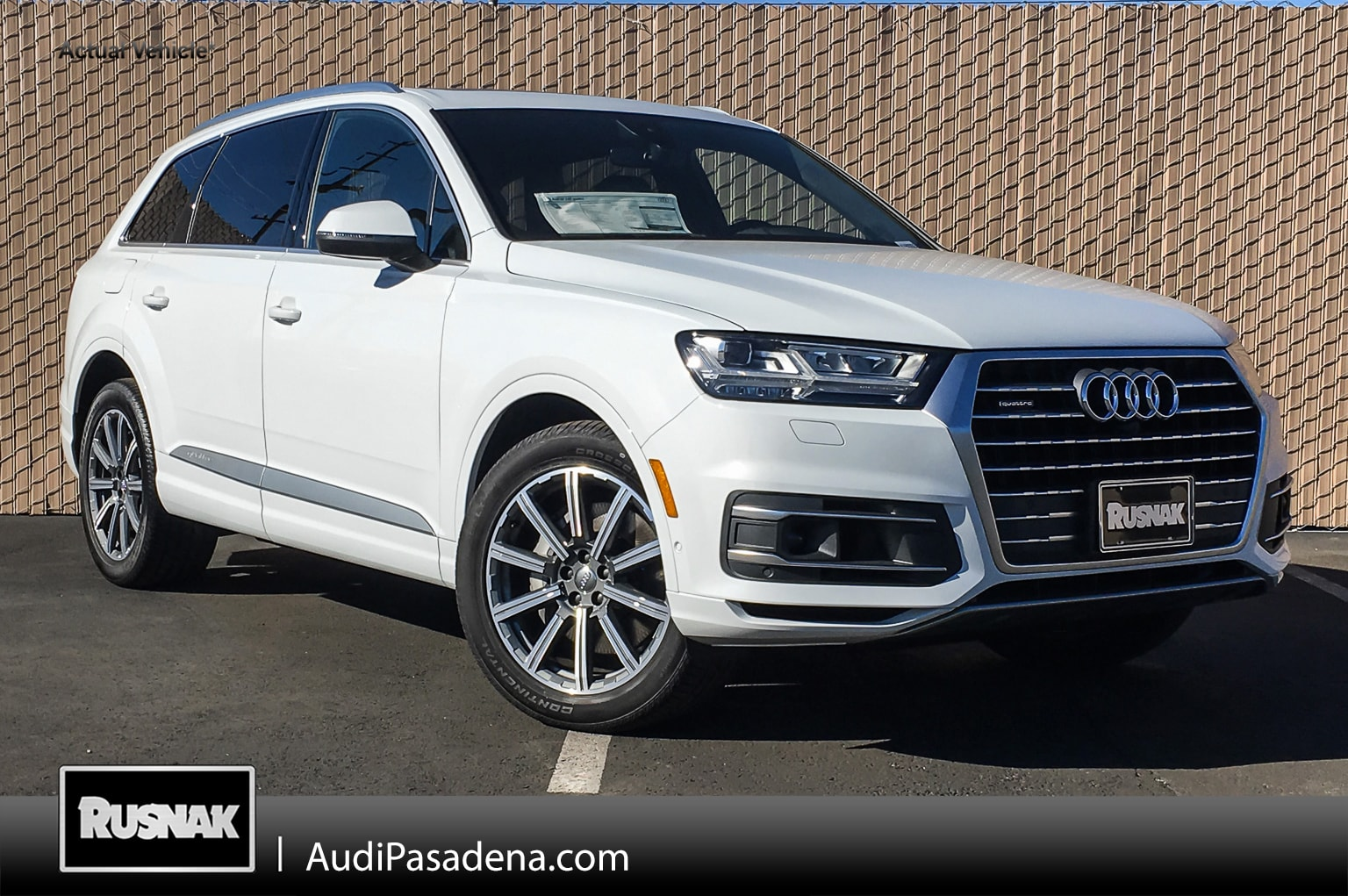 New 2019 Audi Q7 3.0T Premium Plus SUV Los Angeles