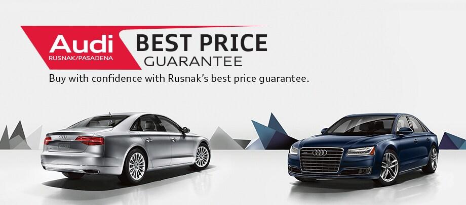 Best Price Guarantee On A New Audi - Audi best price