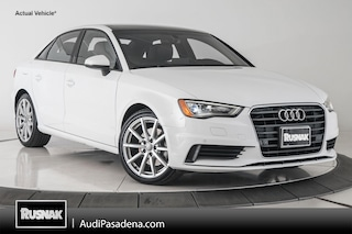 Certified Used 2016 Audi A3 1.8T Premium Sedan Los Angeles Southern California