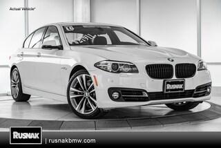 Certified Used 2016 BMW 528i Sedan Sedan Los Angeles California