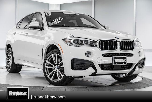 Certified Used 2016 BMW X6 xDrive35i SUV For Sale Los Angeles, California