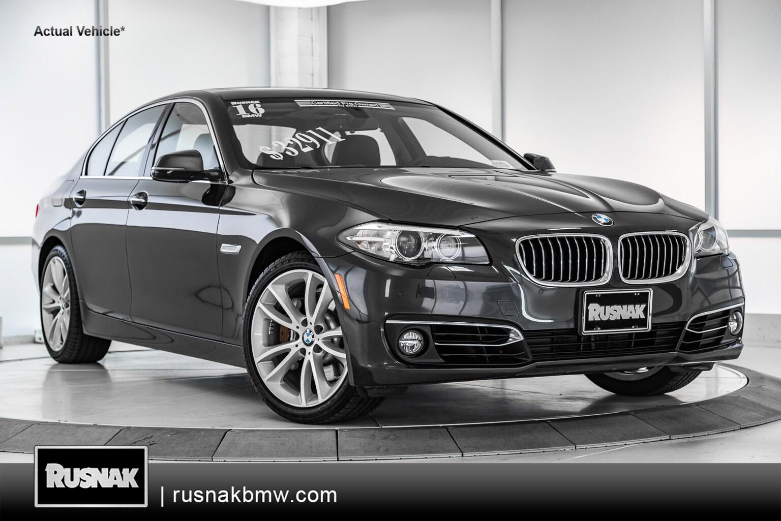 2016 BMW 535i Sedan 4dr Car