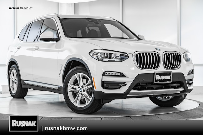 New 2019 BMW X3 SAV For Sale Los Angeles California