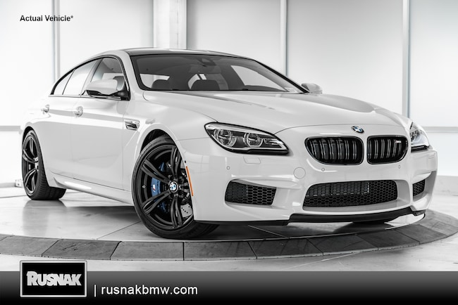 New 2019 BMW M6 Gran Coupe For Sale Los Angeles California