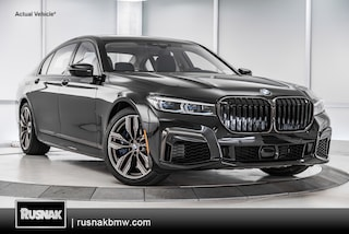 New 2020 BMW M760i Sedan Los Angeles California