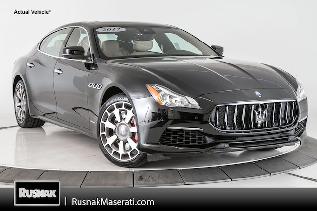 Used vehicles 2017 Maserati Quattroporte GTS GranLusso Sedan for sale near you in Pasadena, CA