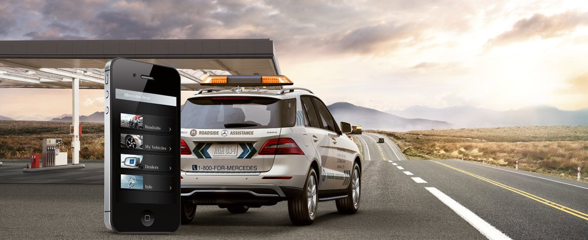 Mercedes benz road side assistance mercedes benz of for Mercedes benz dealers in los angeles