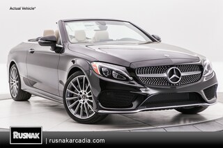 New 2018 Mercedes-Benz C-Class Cabriolet Los Angeles