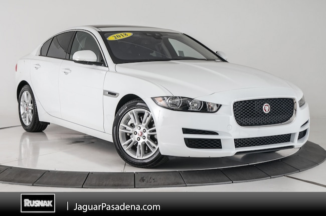 Certified Used 2018 Jaguar XE 25t Premium For Sale Los Angeles California