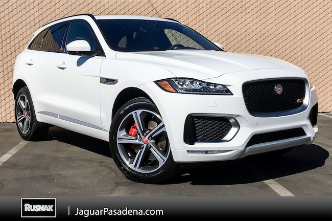Buy Or Lease New 2019 Jaguar F Pace Los Angeles Stock 790029