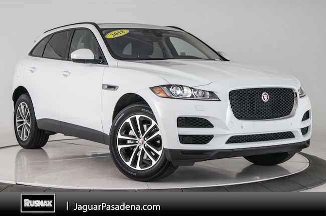 Certified Used 2018 Jaguar F-PACE 25t Premium SUV For Sale Los Angeles California