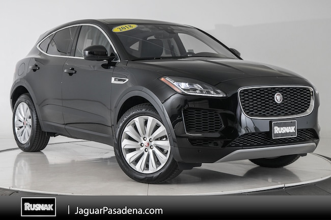 Certified Used 2018 Jaguar E-PACE SE SUV For Sale Los Angeles California