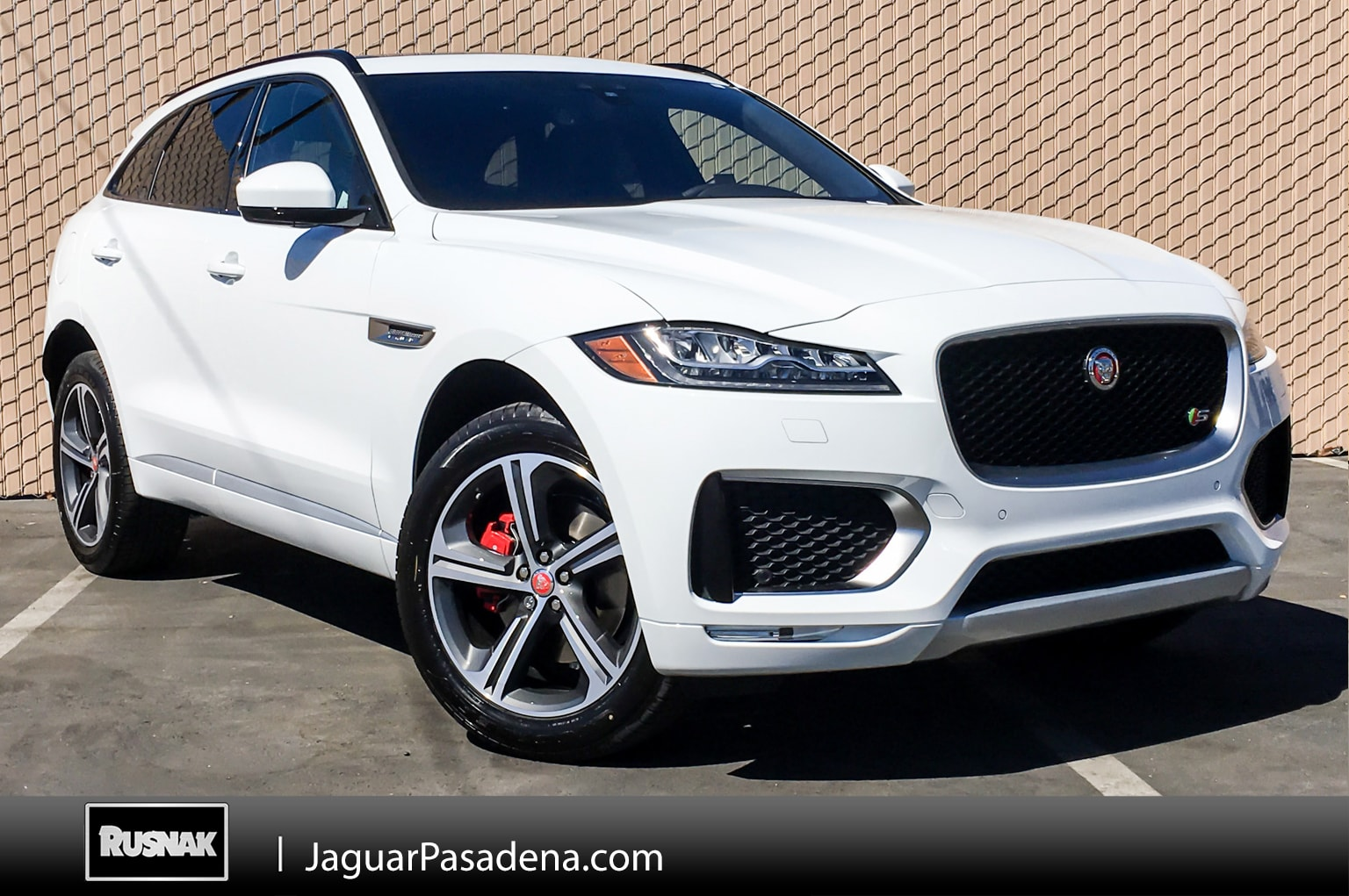 New 2019 Jaguar F-PACE S SUV For Sale Los Angeles California