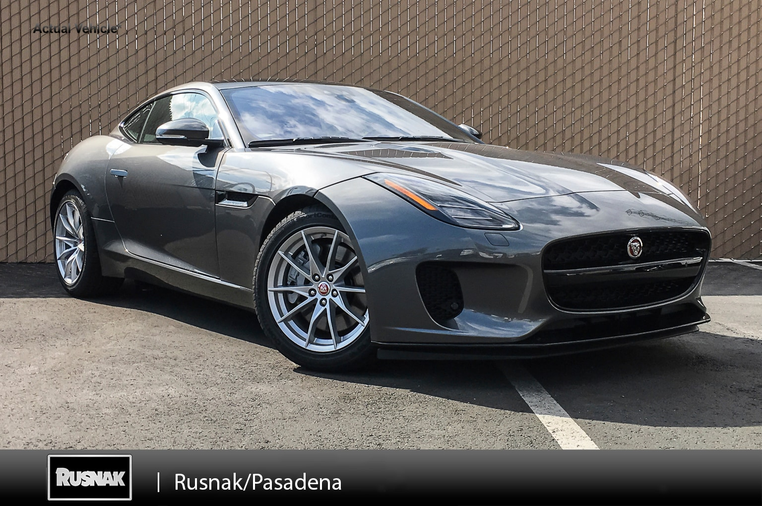New 2019 Jaguar F-TYPE P300 Coupe For Sale Los Angeles California