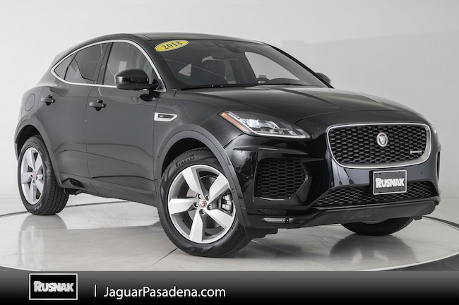 Certified Used 2018 Jaguar E-PACE R-Dynamic SE SUV For Sale Los Angeles California