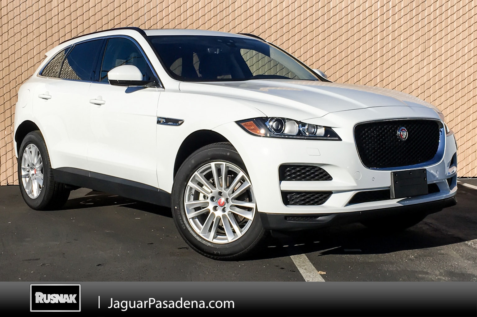 New 2019 Jaguar F-PACE Prestige SUV For Sale Los Angeles California