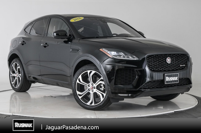 Certified Used 2018 Jaguar E-PACE First Edition SUV For Sale Los Angeles California