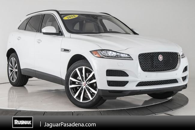 Certified Used 2018 Jaguar F-PACE 20d Prestige SUV For Sale Los Angeles California