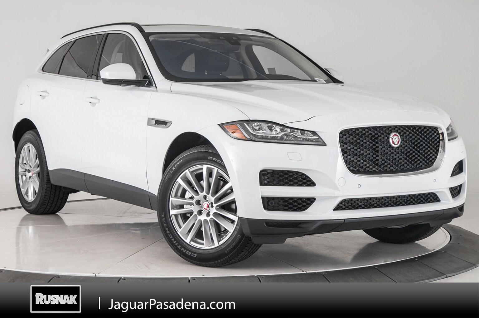 New 2018 Jaguar F-PACE Prestige SUV For Sale Los Angeles California