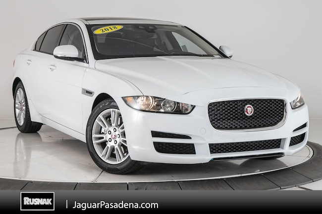 Certified Used 2018 Jaguar XE 20d Premium Sedan For Sale Los Angeles California