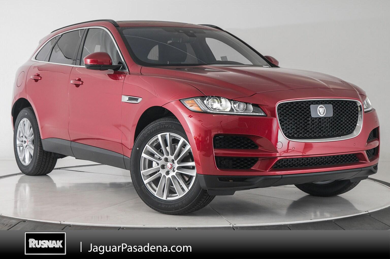 New 2019 Jaguar F-PACE Prestige SUV For Sale Los Angeles California