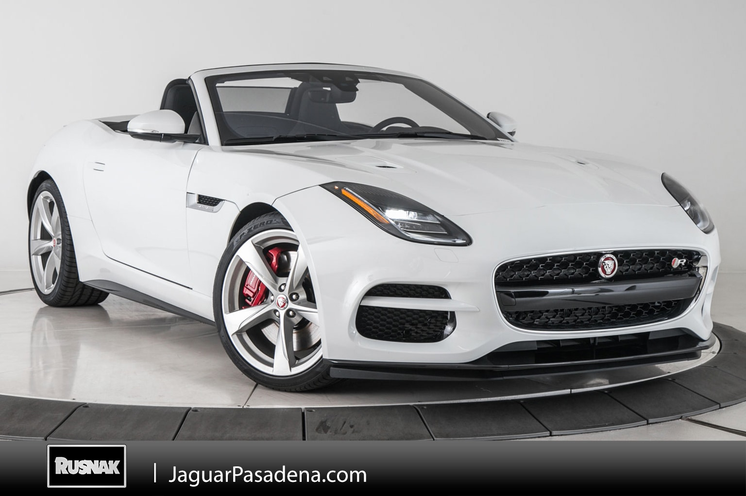 New 2019 Jaguar F-TYPE R Convertible For Sale Los Angeles California