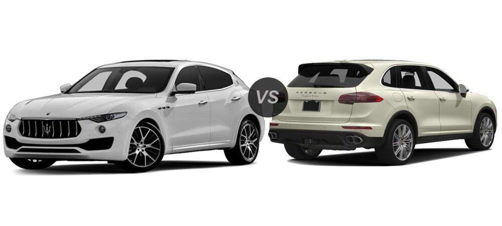 2017 maserati levante vs 2016 porsche cayenne - compare models