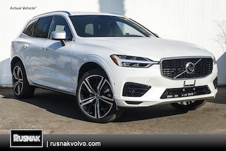 New 2019 Volvo XC60 Hybrid T8 R-Design SUV Los Angeles California
