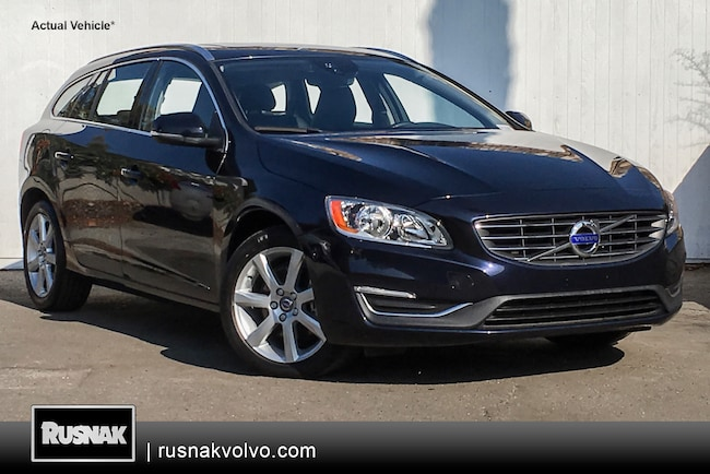 Certified Used 2016 Volvo V60 T5 Drive-E Premier Wagon Los Angeles