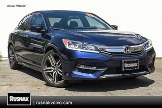 Used 2017 Honda Accord Sport SE Sedan Los Angeles
