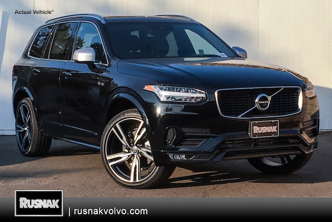 New 2019 Volvo XC90 T6 R-Design SUV Los Angeles