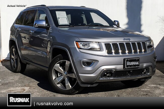 Used 2015 Jeep Grand Cherokee OVRLND SUV Los Angeles