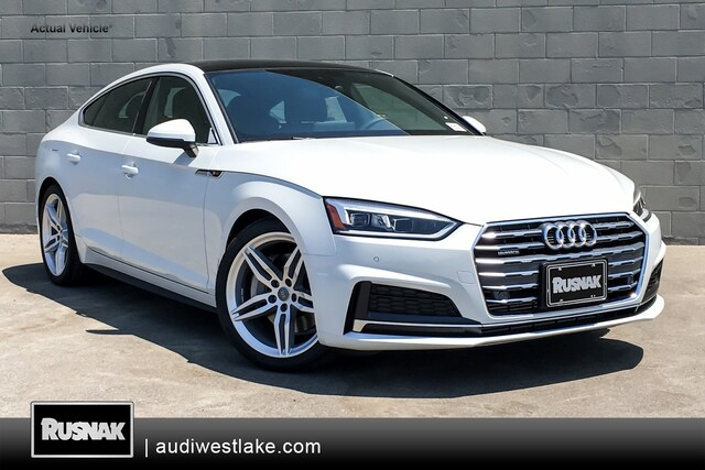New 2018 Audi A5 2.0T Premium Plus Sportback Los Angeles, Southern California
