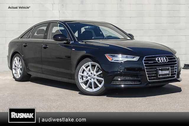 New 2018 Audi A6 2.0T Premium Plus Sedan Los Angeles, Southern California