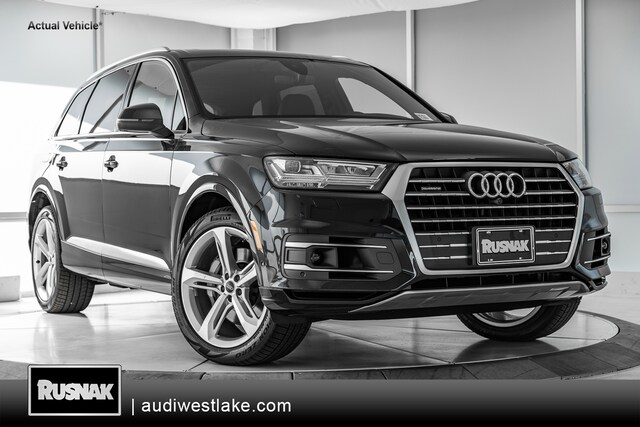 New 2019 Audi Q7 3.0T Prestige SUV Los Angeles, Southern California