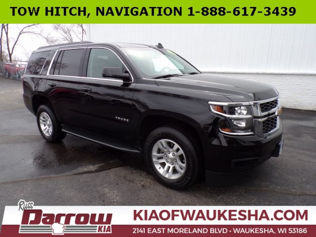 Chevy Dealer Milwaukee >> Used 2019 Chevrolet Tahoe Lt For Sale In Milwaukee Wi Vin
