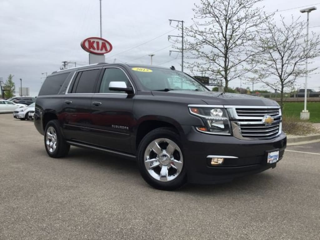 Used 2015 Chevrolet Suburban 1500 LTZ For Sale in Milwaukee WI