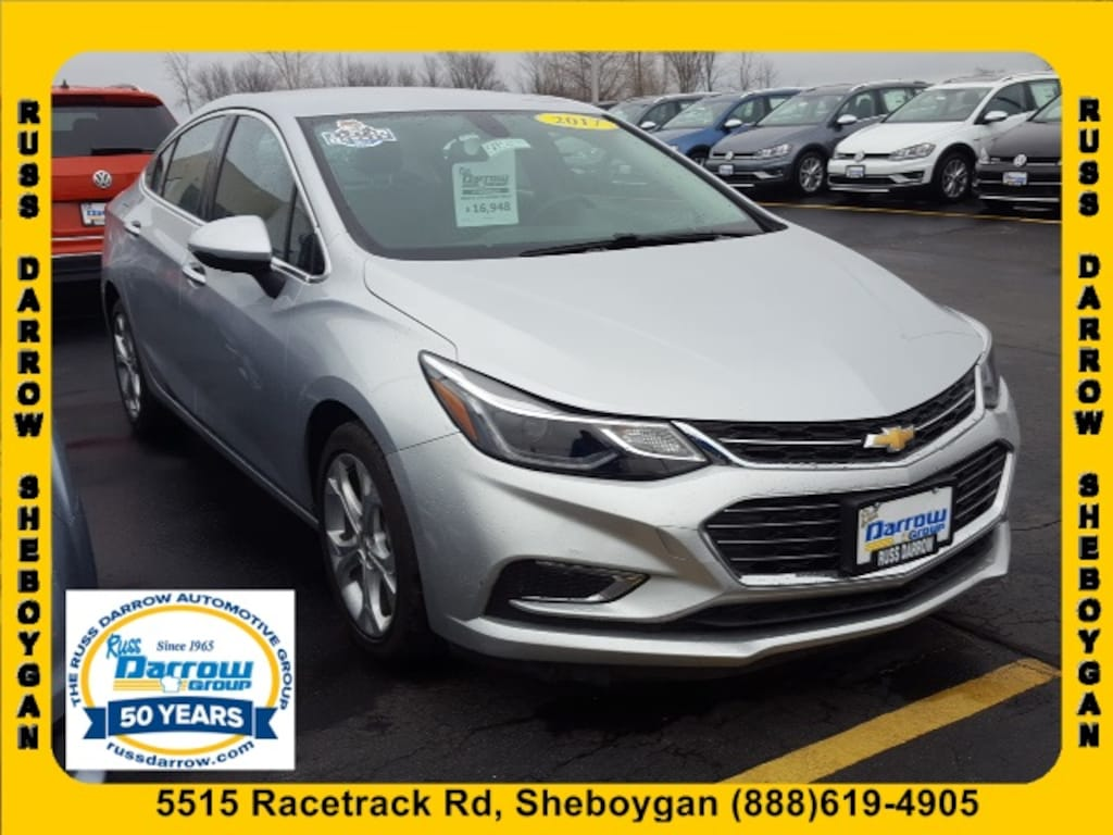 Chevy Dealer Milwaukee >> Used 2017 Chevrolet Cruze Premier Auto For Sale In Milwaukee Wi