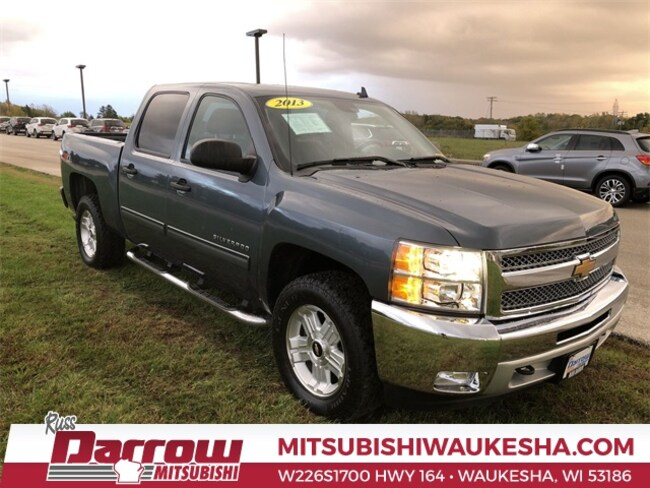 Used 2013 Chevrolet Silverado 1500 LT Truck Crew Cab For Sale in Milwaukee, WI