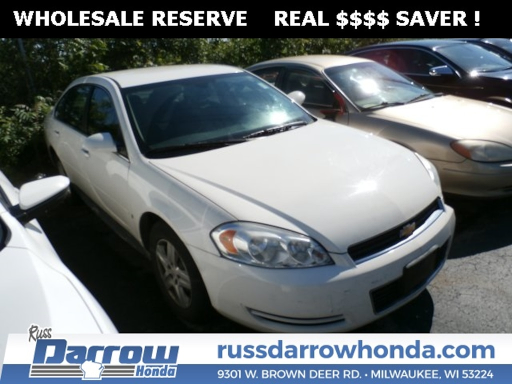 Chevy Dealer Milwaukee >> Used 2009 Chevrolet Impala Ls For Sale In Milwaukee Wi Vin