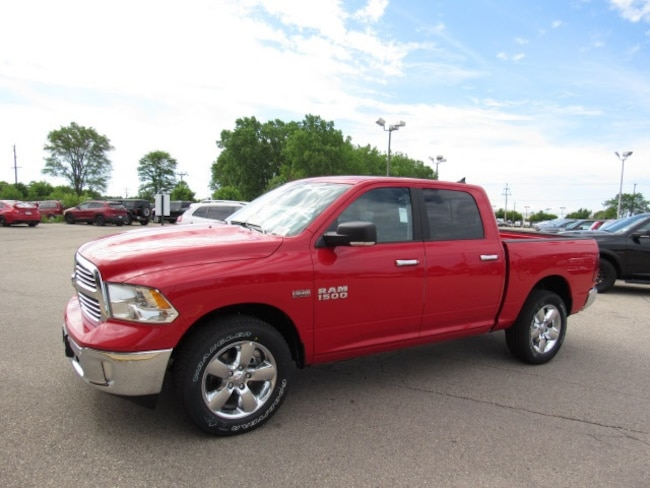 2018 Ram 1500 BIG HORN CREW CAB 4X4 5'7 BOX Crew Cab For Sale in Madison, WI