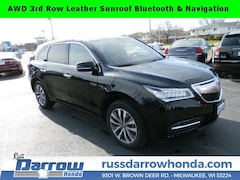 Certified Pre-Owned 2016 Acura MDX MDX SH-AWD with Technology SUV For Sale in West Bend, WI