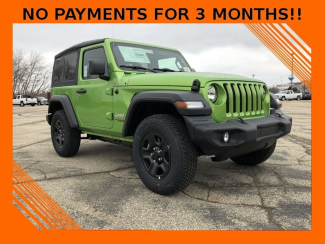 2018 Jeep Wrangler SPORT 4X4 Sport Utility For Sale in Madison, WI